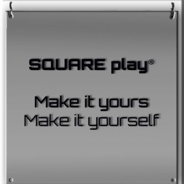 SQUARE play® make it yours make it selfA
