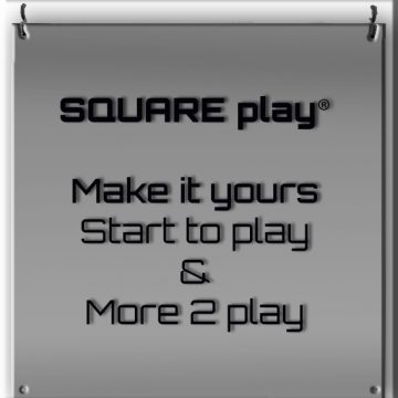 SQUARE play® make it yours startA