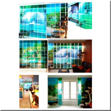 SQUAREPlay Window with a view waterval Exclusive Portfolio N
