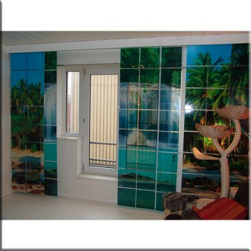 SQUAREPlay Window with a view waterval Exclusive daglicht stuk openH